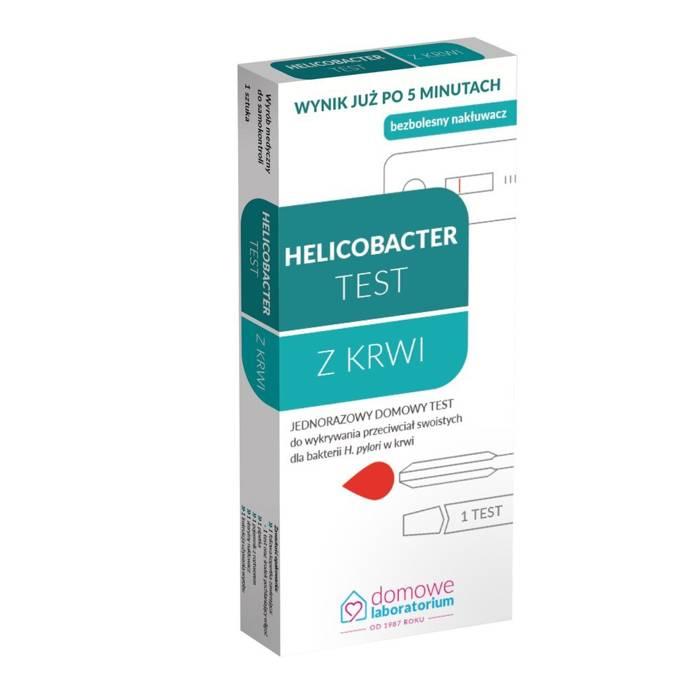 Helicobacter TEST z krwi